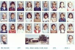 Shell Beach 1st Grade